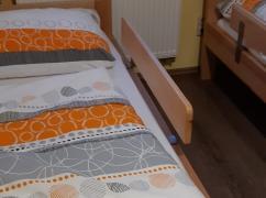 Zábrany na postele,možno umístit kamkoliv