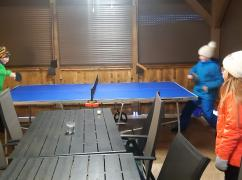 Stolni tenis v zimě